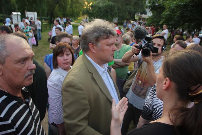 Сергей Митрохин о результатах своей работы